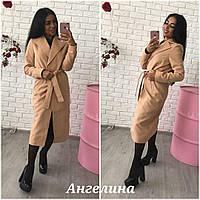 Классическое удлиненное кашемировое пальто в расцветках h-3702118