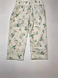 Штаны для сна пижама детские GAP на девочку 6 лет , фото 4