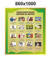 Информационный стенд Права ребенка