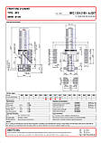 Гидроцилиндр с крышкой Binotto MFC 126-4-5100 (фронтальный), фото 2