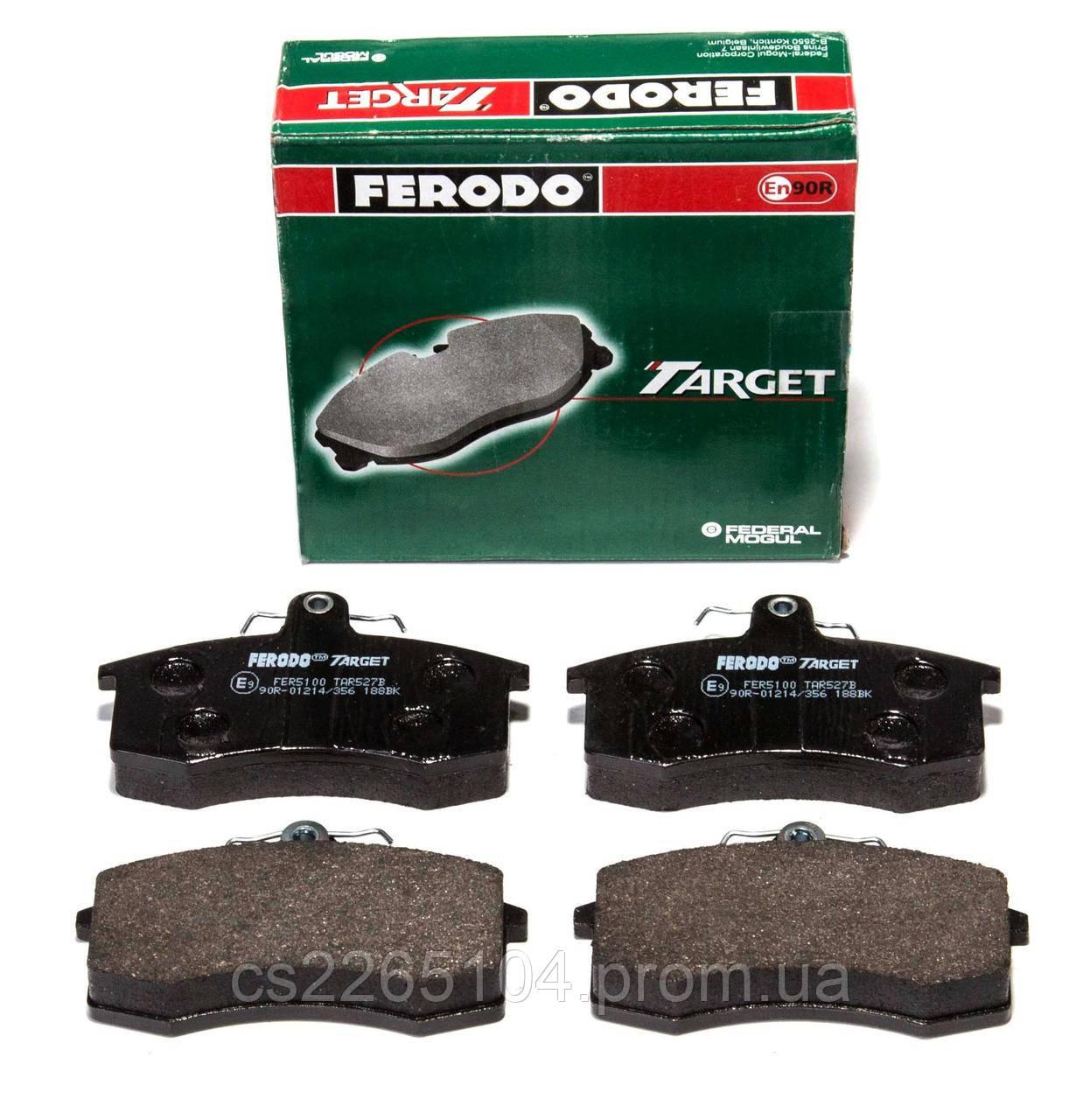 Колодки тормозные передние ВАЗ 2108-2190 Ferodo