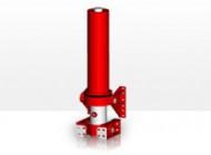 Гидроцилиндр с крышкой Binotto MFC 165-4-4700 (фронтальный)