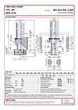 Гидроцилиндр с крышкой Binotto MFC 165-4-4700 (фронтальный), фото 2