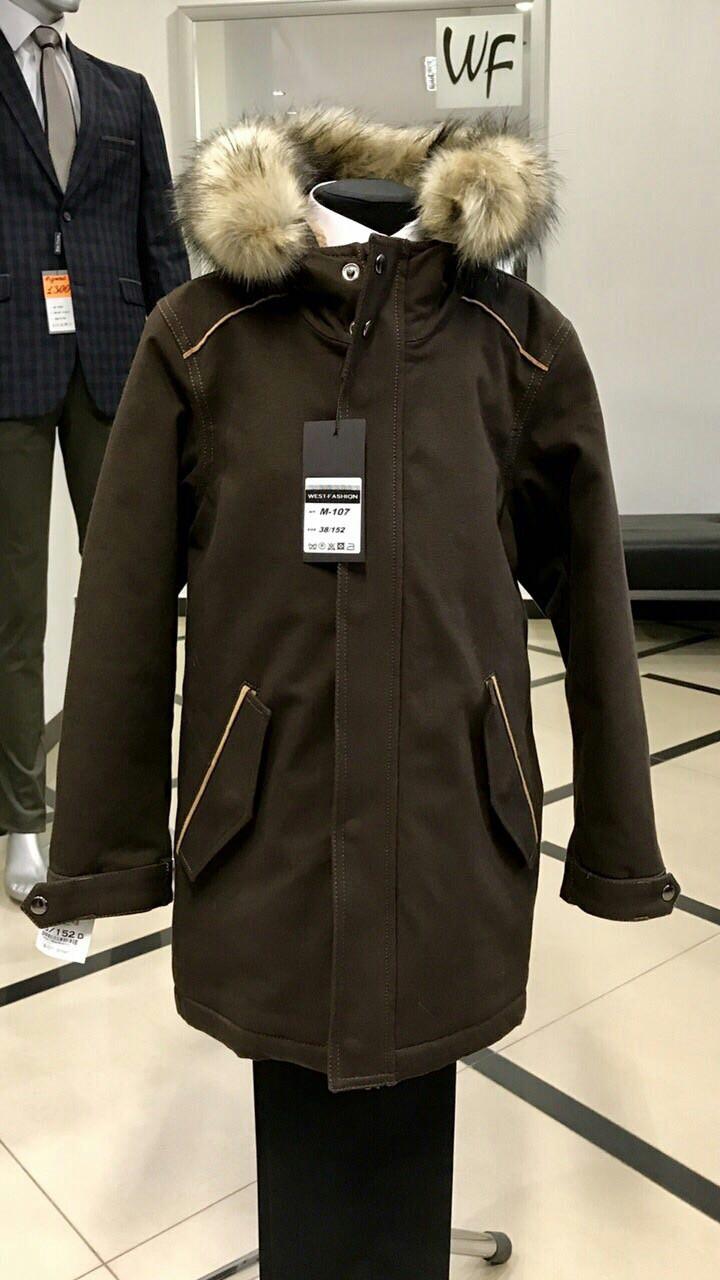 Детская куртка-пальто West-fashion модель M-107