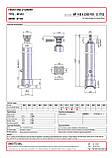 Гидроцилиндр с шарниром Binotto MF 165-4-5300 RO (фронтальный), фото 2
