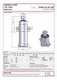 Гидроцилиндр Binotto B DWR 6-1470-168 (подкузовной), фото 2