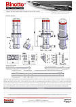 Гидроцилиндр Binotto MFС-B3 107-3-2855 D0311 (фронтальный), фото 2