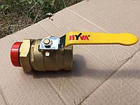 Шаровый кран DN32 Hyva (Хива)
