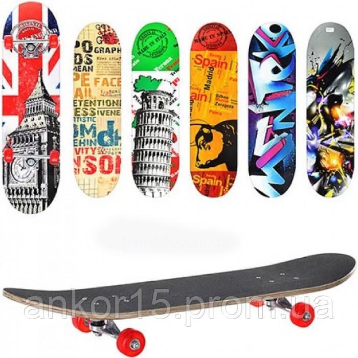 Скейт MS 0321 Profi