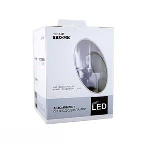 Светодиодные(LED) лампы SHO-ME G6.2 H7 6000K 30W , фото 3