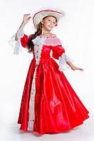 Миледи Франция исторический костюм для девочки