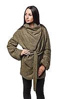 Женское Пальто П-022 Шерсть Желтый