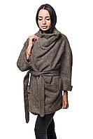 Женское Пальто П-022 Шерсть Капучино