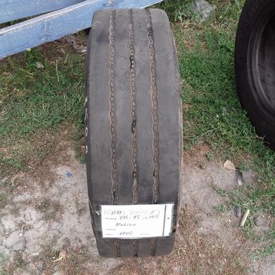 Шины б.у. 235.75.r17.5 Nokian NTR72 Нокиан. Резина бу для грузовиков и автобусов