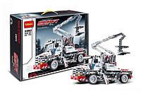 """Конструктор Decool 3350 (аналог Lego Technic 8071) """"Автоподъёмник с люлькой (Bucket Truck)"""" 592 дет"""