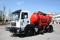 Комбинированная уборочная машина КрАЗ 6511Н4\ 5401Н2
