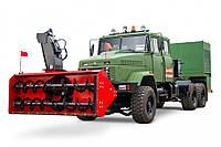 Дорожная машина с роторным снегоочистителем КрАЗ 6322