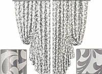 Ткань для штор блэкаут завиток № 18 (двухсторонняя), фото 1