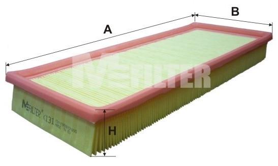 Фильтр воздушный M-Filter K131 (002 AP)