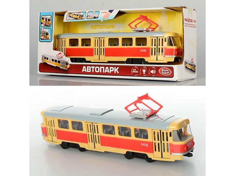Трамвай на батарейках