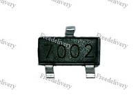 Чип N7002 7002 60В, 0.2А, полевой транзистор