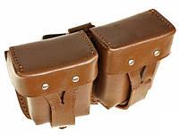 Подсумок кожаный для винтовки и карабина Мосина, фото 1