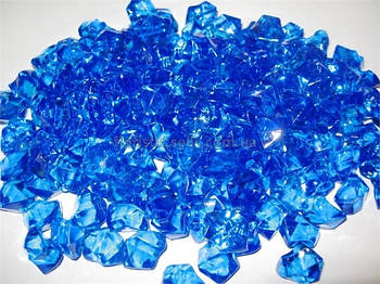 Лед искусственный синий, 50 гр.