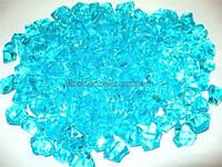 Лед искусственный голубой 50гр.