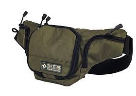 SvaStone сумка-пояс для пистолета с лого олива