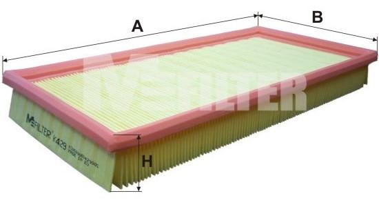 Фильтр воздушный M-Filter K429 (003/3 AP)