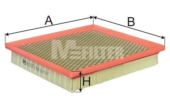 Фильтр воздушный M-Filter K769 (003/6 AP)