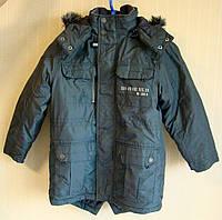 Куртка парка детская Next. Размер 128 (8 лет).