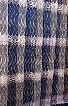 Тюль фатин с вензелями крем 5003, фото 3