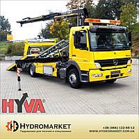 Гидравлика  Hyva на  эвакуатор со сдвижным гидравлическим полом