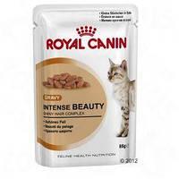 Роял Канин Intense Beauty Корм для кошек старше 1 года для поддержания красоты шерсти, 85г