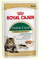 Роял Канин Maine Coon Консерва в соусе для кошек породы Мейн-кун, 85г