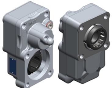Коробка отбора мощности на ZF несоосный ISO (300 Нм)