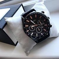 Мужские стильные часы с кожаным ремешком (4 цвета)