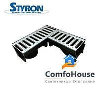 Водоотводящий желоб STYRON STY-903 угловой