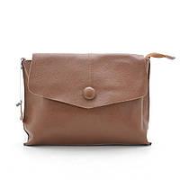 Женская сумка через плечо 109 светло-коричневый