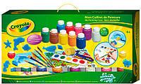 Набор для творчества с красками, штампами и кисточками, Crayola