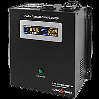 Источник бесперебойного питания (ИБП) LogicPower LPY- W - PSW-2000VA+ (1400Вт) 10A/20A с правильной синусоидой 24В