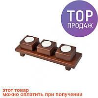 Подсвечник Прямоугольный / аксессуары для дома