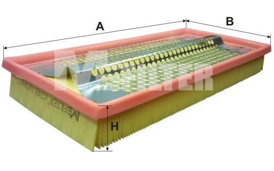 Фильтр воздушный M-Filter K249 (010/2 AP)