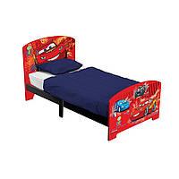 """Одноместная деревянная кровать """"Тачки"""" BB87116CR ТМ: Delta"""