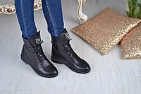 Ботинки кожаные Roberto Cavalli / под заказ