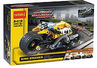 """Конструктор Decool 3419 (аналог Lego Technic 42058) """"Мотоцикл для трюков"""" 140 дет"""