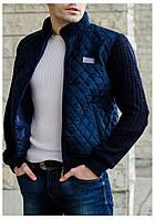Мужская замшевая куртка на осень весну