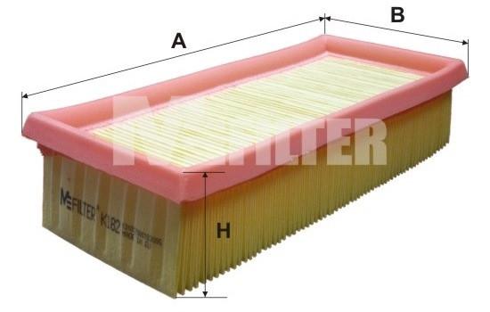 Фильтр воздушный M-Filter K182 (013 AP)