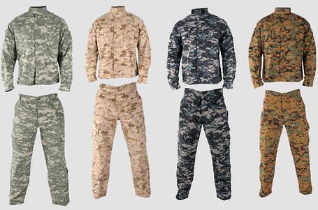 Военная и камуфляжная одежда